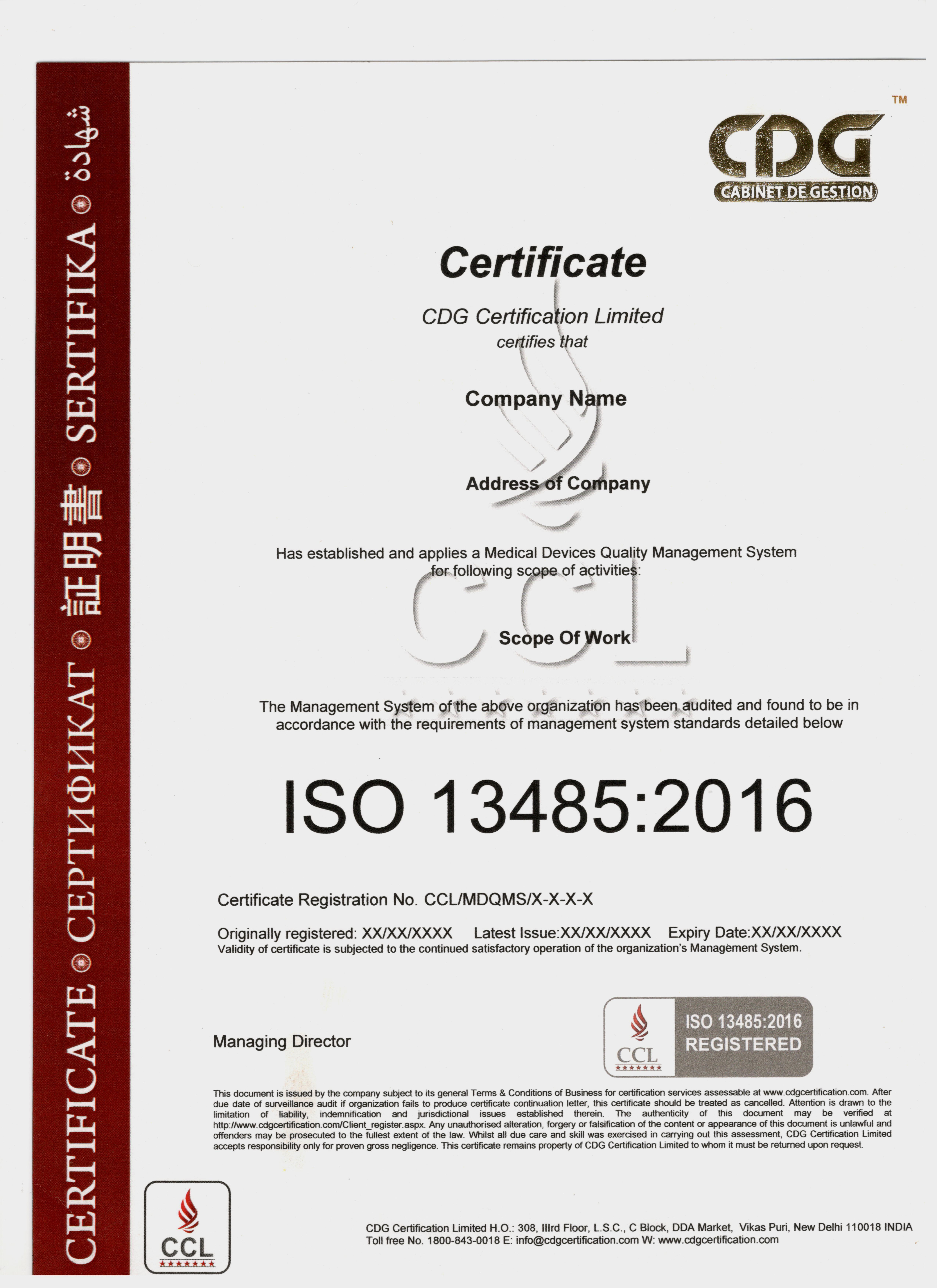 Sample iso 134852016 certificate buycottarizona